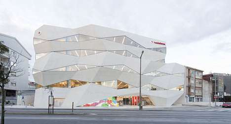 Faceted Cut-Out Architecture