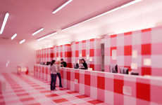 18 Healthy Architecture - From Psychedelic Retro Drugstores to Bright Therapeutic Cafes