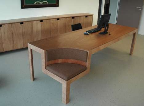 Seat-Integrated Tables