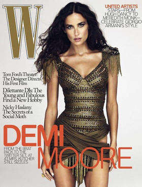 Photoshop Defenders - Demi Moore Takes Down the Hip Doctoring Rumor