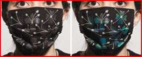 Color-Change H1N1 Masks