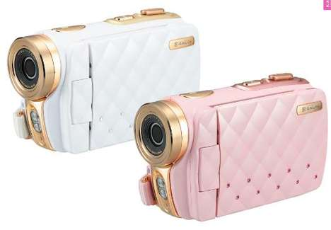 Faux Quilted Cameras