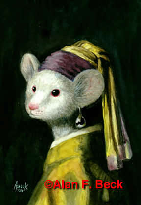 Mouse Bombed Portraits