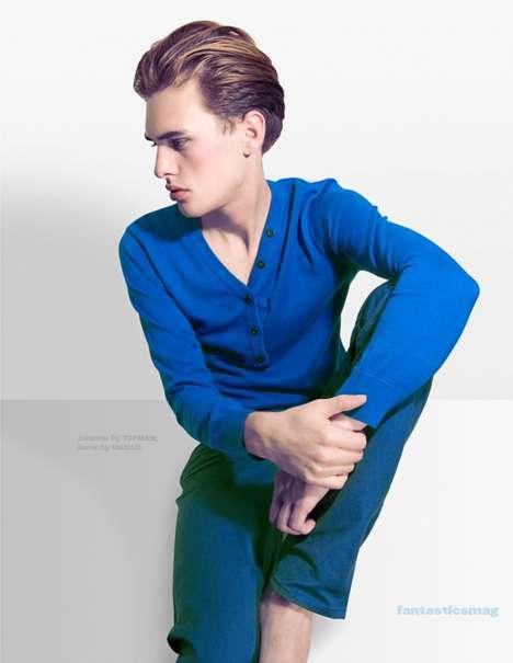Rainbow-Hued Menswear