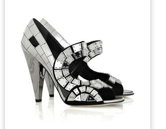 Mirrored High Heels