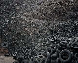 Environmental Burialscapes - The Dead Tires Graveyard is Horrifyingly Beautiful