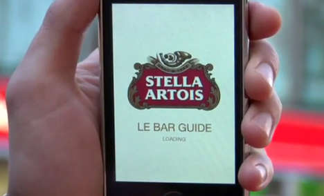 The Stella Artois 'Le Bar Guide' App Leads You to Your Favorite Beer