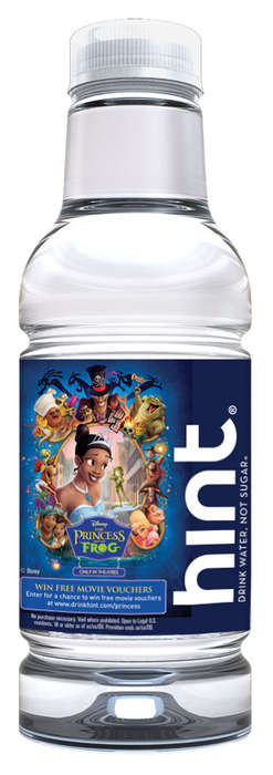 "Fairytale Water - HINT Essence Water ""Transforms"" for Disney's ""The Princess and the Frog"""