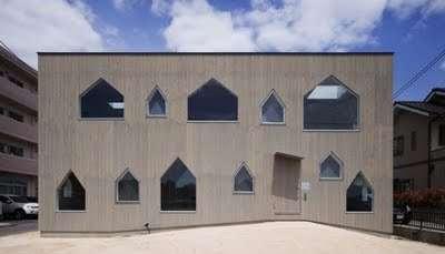House-Shaped Windows