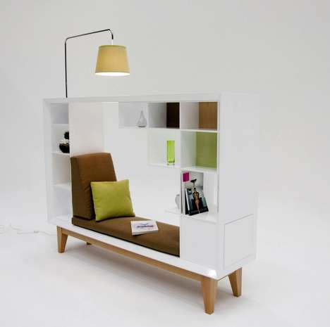 Compact Reading Nooks