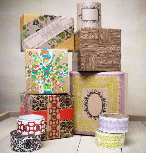 Pretty Packing Tape - TapeSwell is Duct Tape's Adorable Little Sister