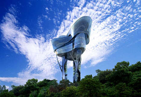 Futuristic Watchtowers