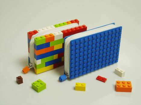 LEGO Wallets - Geektastic Cash Carriers from ColorByNumbers