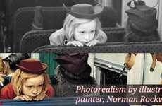 Photorealistic Realizations - Revelations of Photorealism in the Work of Norman Rockwell