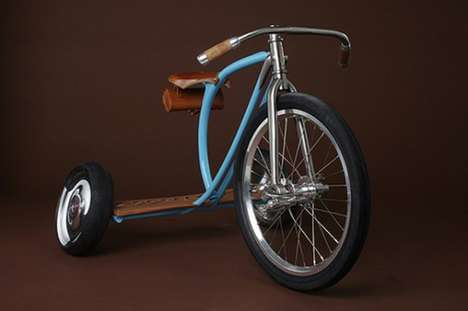 $10,000 Trikes - Sacha White Creates a Tricycle to End All Tricycles