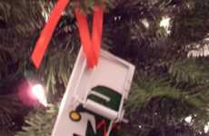 Mousetrap Ornaments