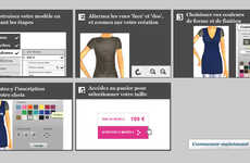 DIY Virtual Knitwear - The Trendy Workshop Lets Users Design Clothes and Sell Them Online