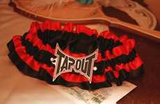 UFC Lingerie - The Tapout Garter Makes for an MMArvelous Wedding Night Surprise