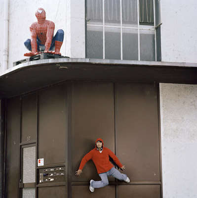 Spiderman-Inspired Pictorials