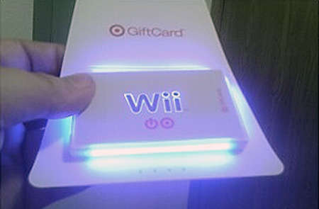 Glowing Gift Cards - These Creative Gift Cards Will Last Long After the Holidays
