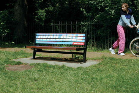 Mobile Billboard Benches
