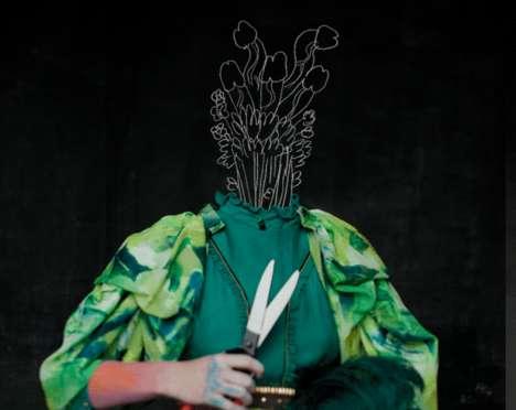 Phallic Plant Head Fashion