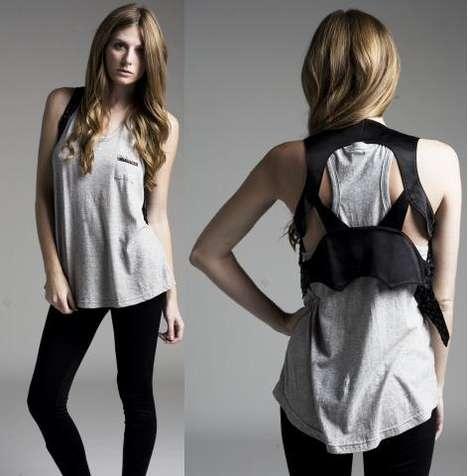 Back Cut-Out Fashion