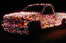 Light-Up Pick-Up Trucks