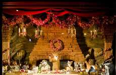 Movie-Themed Window Displays - Fantastic Mr. Fox Bergdorf Goodman's Holiday Scenes