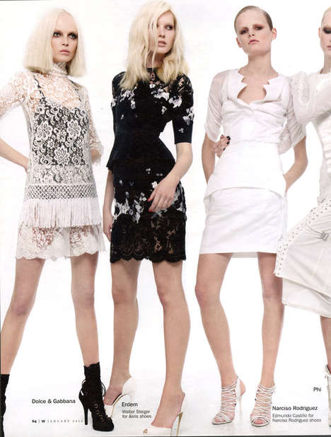 Crowded Couture Spreads