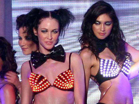 Big Top Lingerie Shows - Triumph International Takes Cues From the Circus for Mumbai Fashion Show