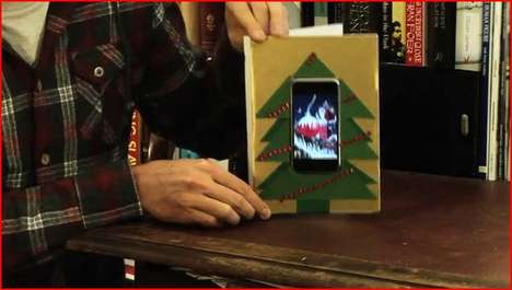 DIY iPhone Christmas Cards