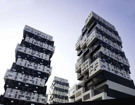 Jenga Block Buildings