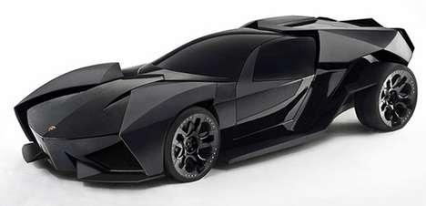 Batmobile Lamborghinis