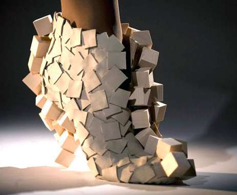 Boxy Origami Shoes