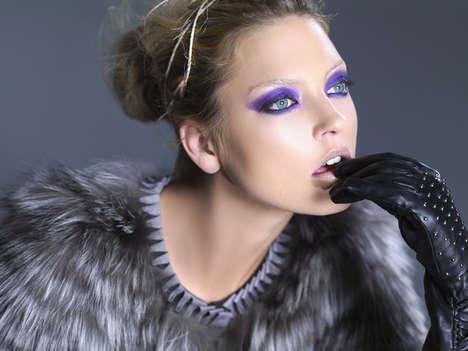Vividly Purple Eyetography