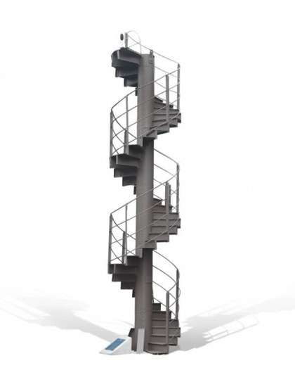 Twizzled Staircases
