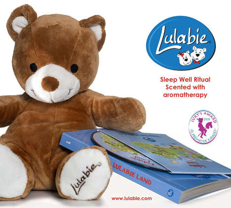 Aromatherapy Teddy Bears - Lulabie Will Put Your Babies into Scented Slumber
