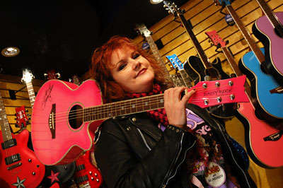 Girly Guitaring  - The Daisy Rock Guitar Company Inspire Girls to Rock Out