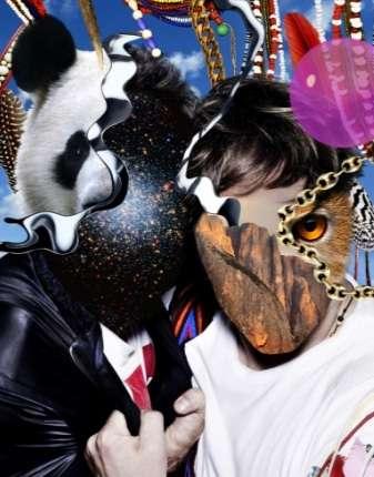 Trippy Pop Culture Mash-Ups