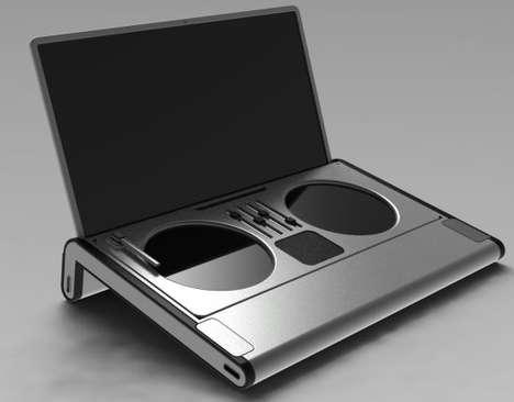 Laptop Turntables