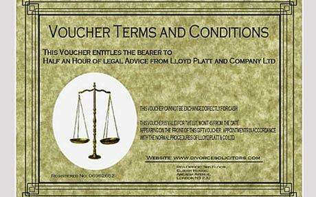 Divorce Vouchers - Lloyd Platt & Company Makes Splitting Up Easy This Holiday Season