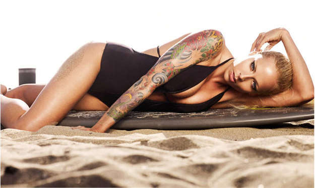 Surfer Girl Tattoography