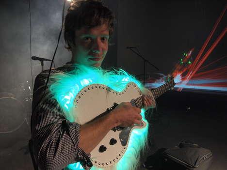 LED Laser Guitars