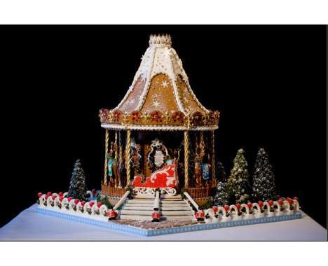 10 Architectural Gingerbread Houses