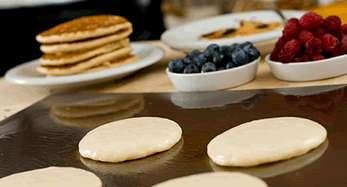 Patron-Prepared Pancakes