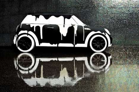 Mini Cooper Canvases