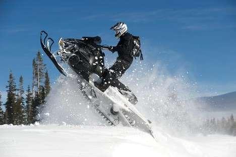 Super Maneuverable Snowmobiles