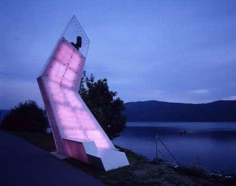 Contorted Lake Illumination