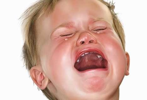 Crying Baby Close-Ups